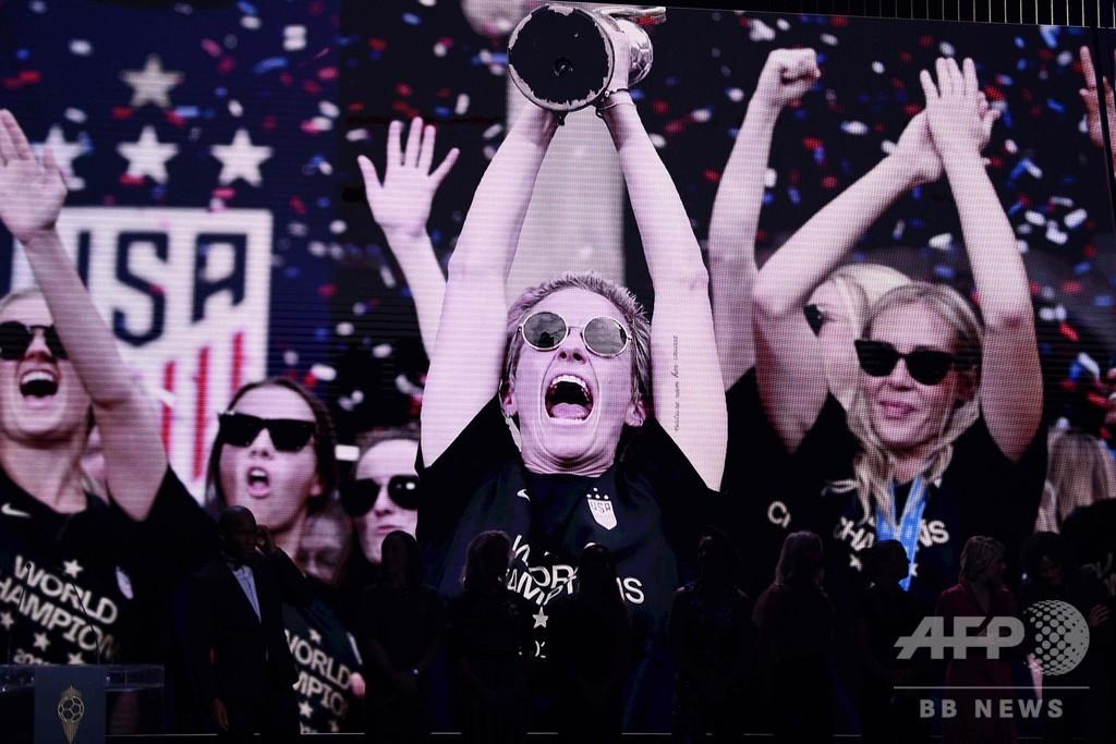 米代表ラピノーが女子バロンドール受賞 「信じられないような一年」