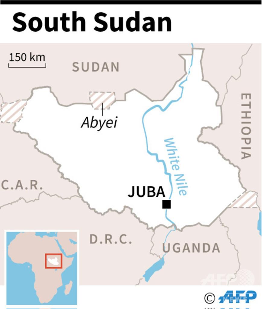 南北スーダン係争地の村を遊牧民が襲撃か、32人死亡と現地当局