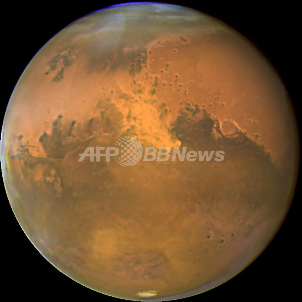 地球の生命誕生は火星の隕石きっかけか、新説発表
