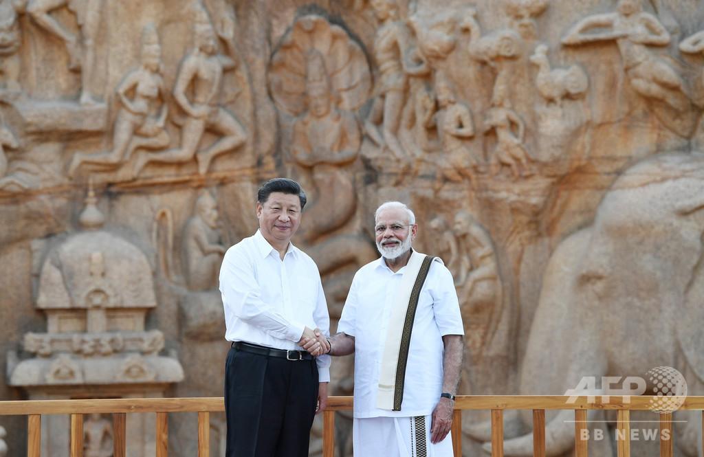 カシミール問題で対立する中印首脳が非公式会談 「過激化」対処で合意