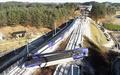 韓国・江陵で高速列車KTXが脱線