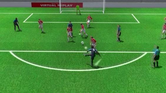 3D動画:優勝引き寄せたポグバ弾、W杯決勝フランス対クロアチア