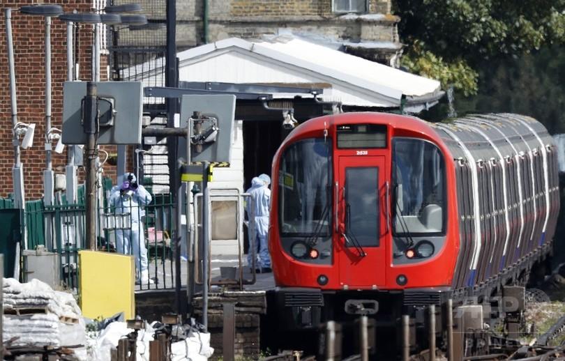英ロンドン地下鉄爆発、18歳男を逮捕 警察発表