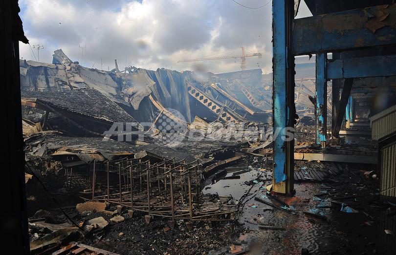 大規模火災のナイロビ空港、国際線の運航再開