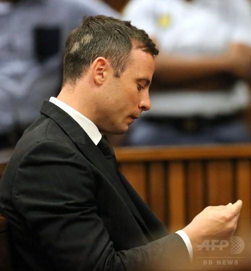ピストリウス被告に禁錮5年、南アフリカ