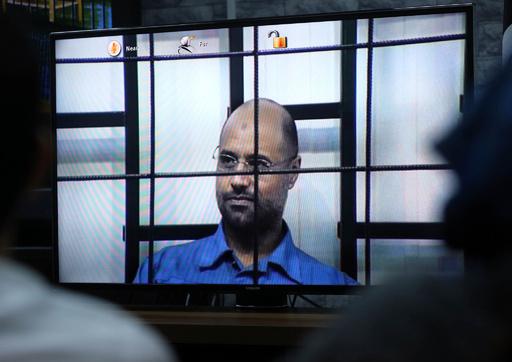 リビア民兵組織、故カダフィ大佐の次男セイフイスラム氏を釈放