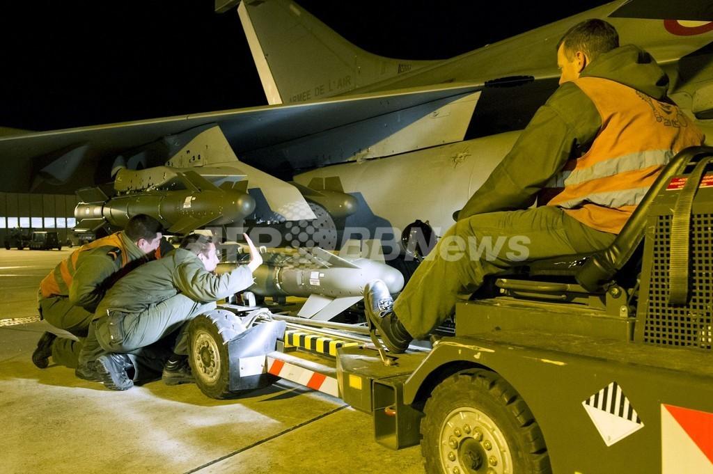 仏軍、マリ北部を空爆 イスラム勢力は逃走