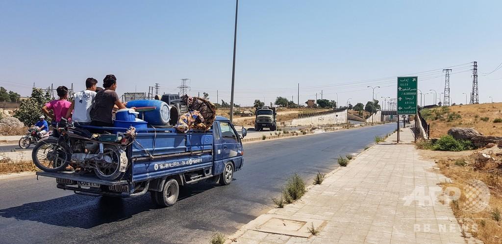 シリアのイスラム過激派組織、イドリブ非武装地帯からの撤退を拒否