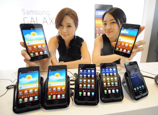 韓国サムスン電子、多機能携帯電話「Galaxy S2」発表