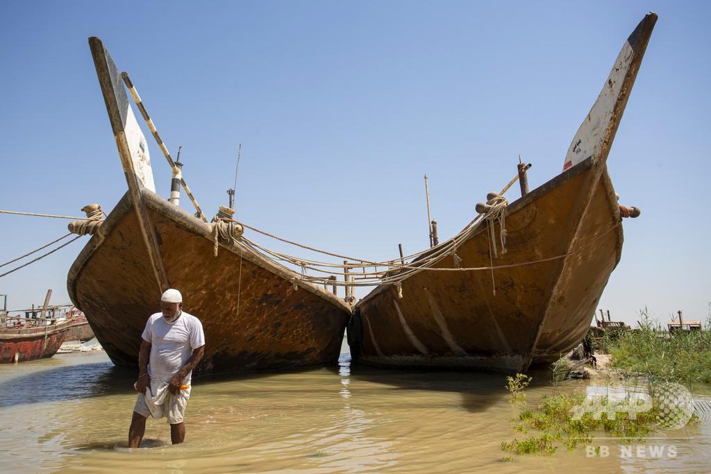 チグリス・ユーフラテス川が干上がる? 上流のダム建設で流量激減