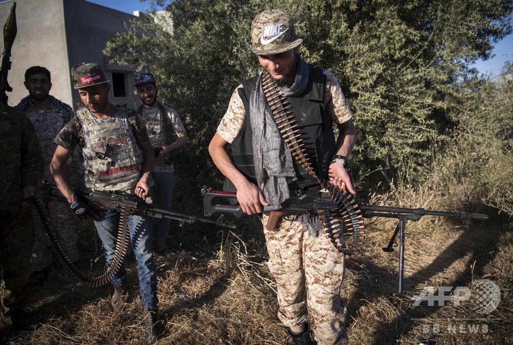 リビア国民軍率いるハフタル氏、領海内のトルコ船舶の攻撃を命令