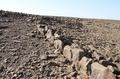 サウジの砂漠に石を用いた謎の構造物400個、衛星画像で確認
