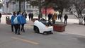 動画:「白いカタツムリ」は6人相当の清掃こなす無人清掃車 天津