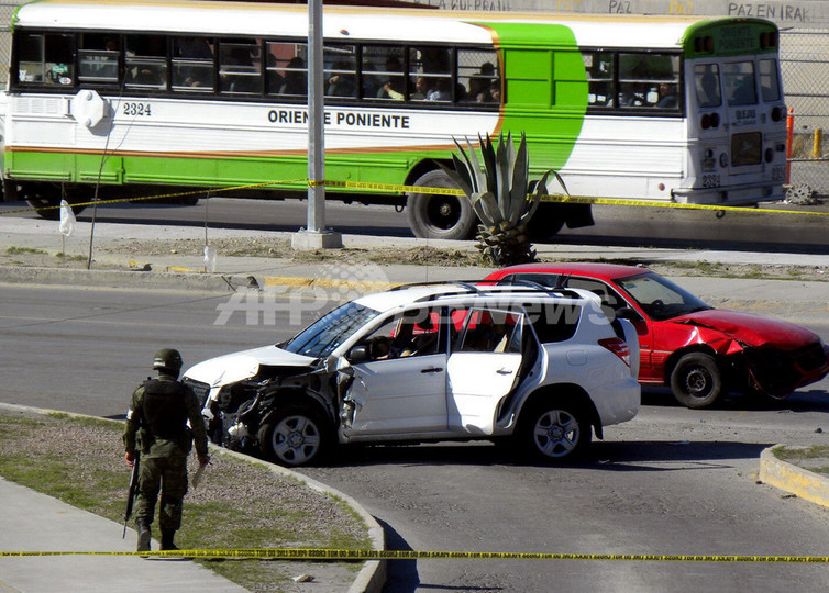 麻薬組織による襲撃か、米領事館職員ら 3人死亡 メキシコ北部