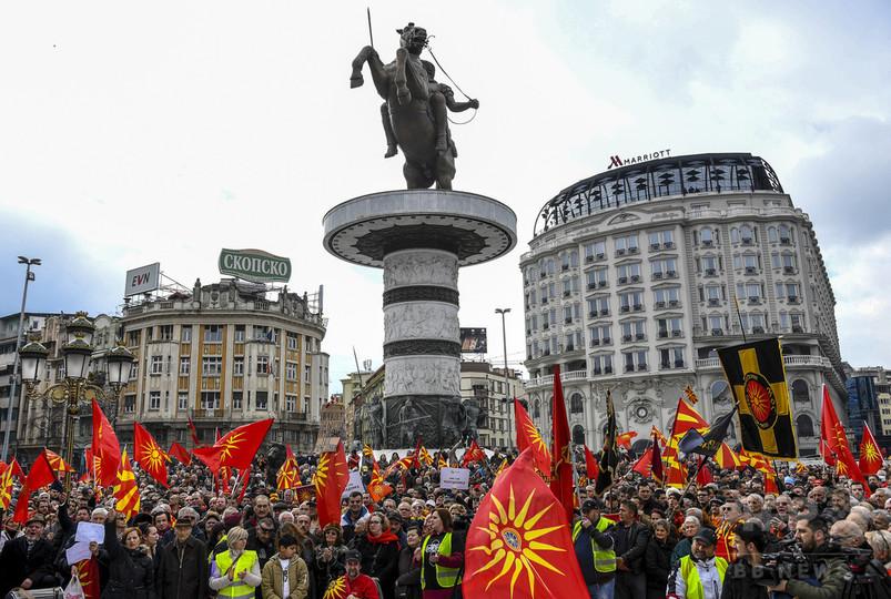 マケドニア、国名変更でギリシャと合意 「北マケドニア」に