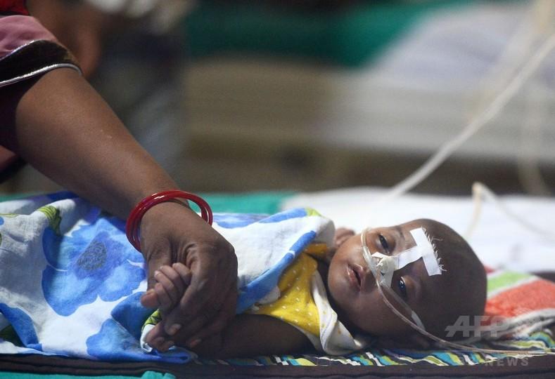 印病院で子どもが相次ぎ死亡 週末新たに25人、計85人に