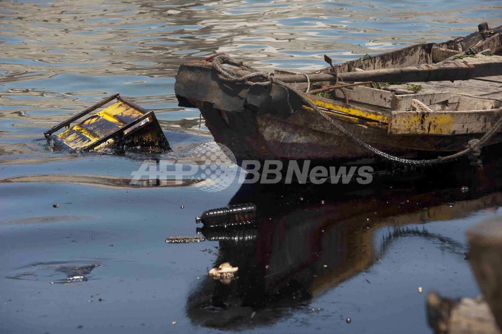 中国当局、パイプライン事故の原油除去にバクテリア活用へ