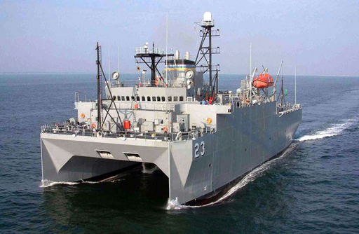 中国艦船、米海軍調査船に妨害行為 南シナ海の公海上