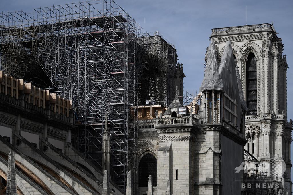 仏ノートルダム大聖堂再建、中国の専門家が協力へ 両国首脳が合意