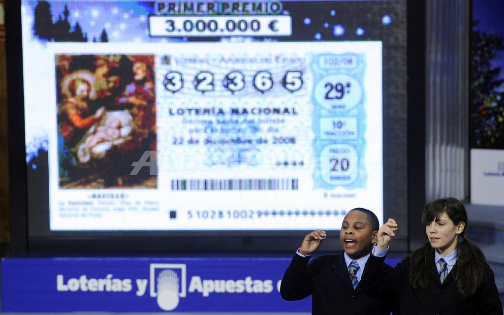 賞金総額世界一、スペインのクリスマス恒例宝くじ「エル・ゴルド」