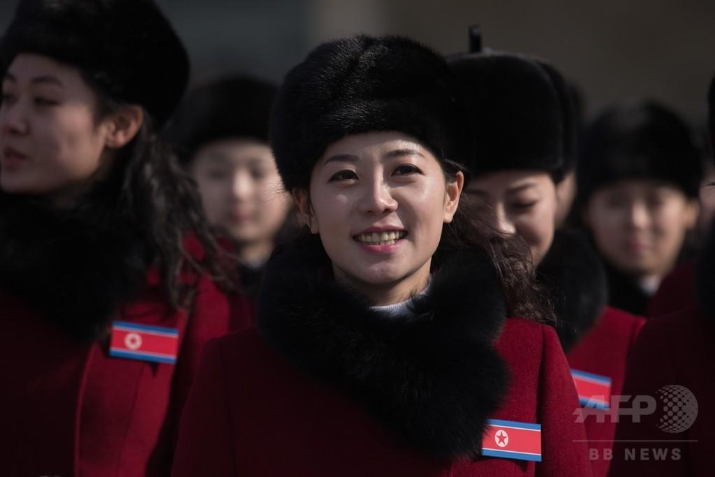「言いたくはないけど…やっぱりかわいい」、北朝鮮「美女応援団」注目の的に 韓国