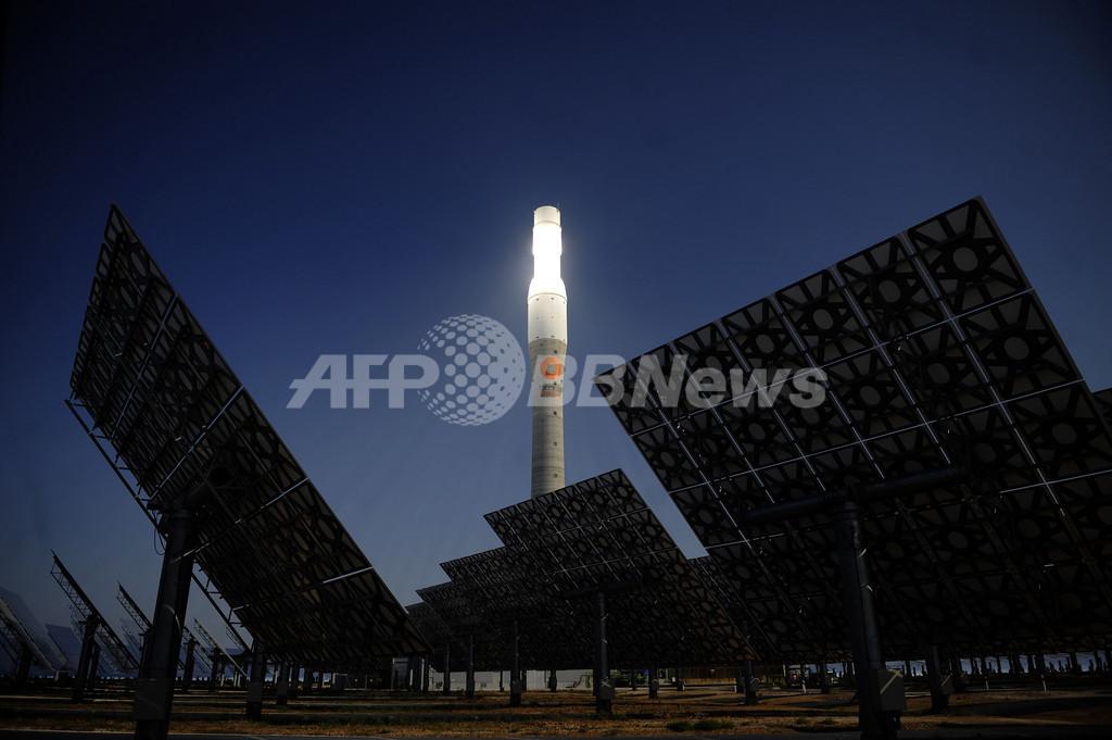 スペインの集光型太陽熱発電所「ヘマソラール」