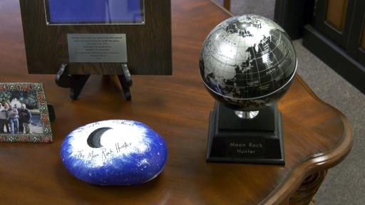 動画:アポロの贈り物を追いかける「ムーンロックハンター」