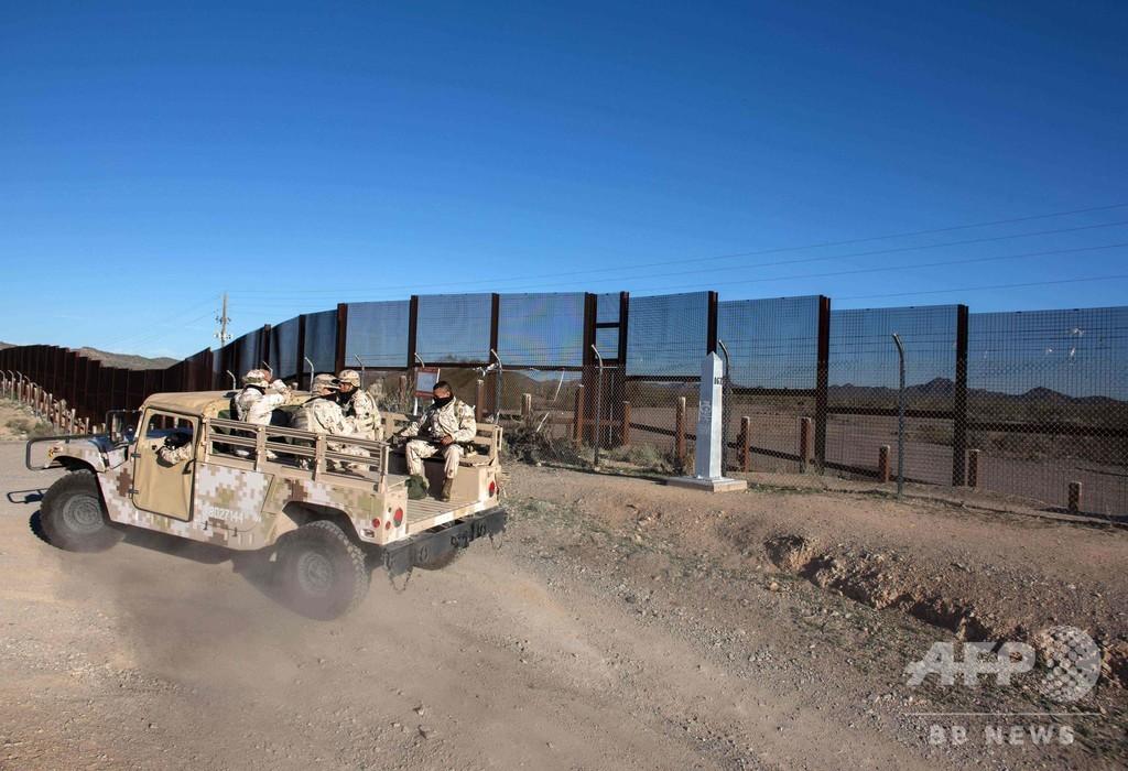 トランプ氏、メキシコ国境に「武装兵士」派遣宣言