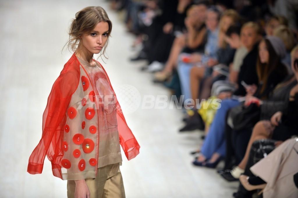 <14年春夏ウクライナ・ファッションウィーク>Victoria Gresら