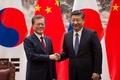 中韓首脳が北京で会談、両国の関係修復に注力