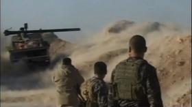 動画:「イスラム国」と交戦するクルド人部隊