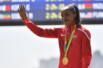 リオ五輪マラソン女王のケニア選手、薬物違反で4年間の資格停止処分