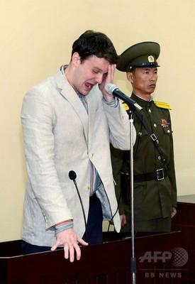 北朝鮮、死亡した米学生への拷問を否定 国営メディア