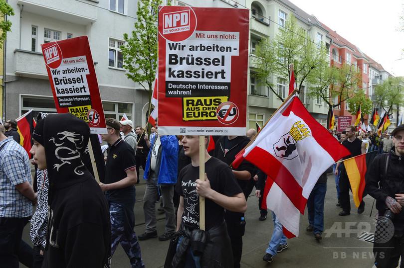ネオナチ政治家を難民が救助、ドイツ中部