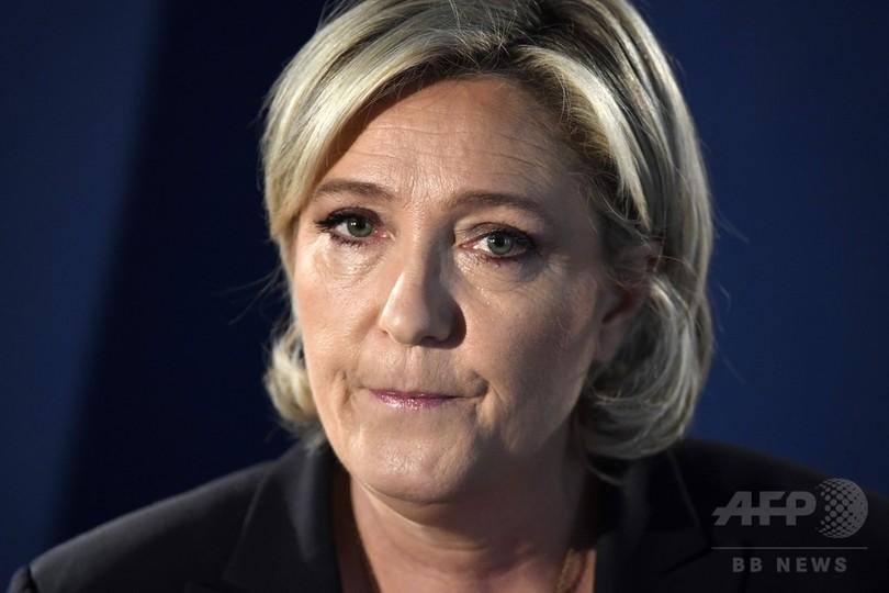 仏極右ルペン氏、背任罪で訴追 欧州議会の給与流用問題