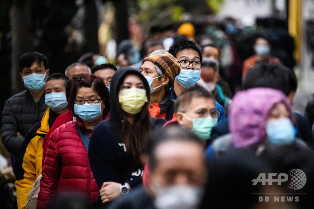 世界的なマスク不足、WHO事務局長が警鐘