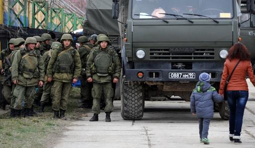 「ロシア軍がクリミアを完全支配」、米高官が見解