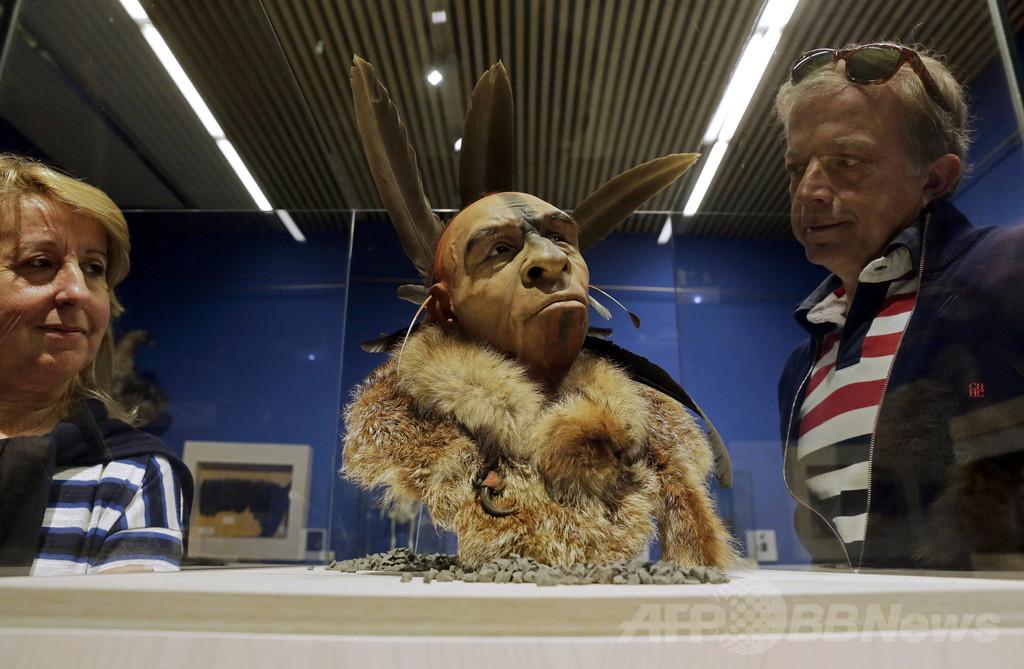 古代人の顔の特徴、部族間闘争するほど速く進化