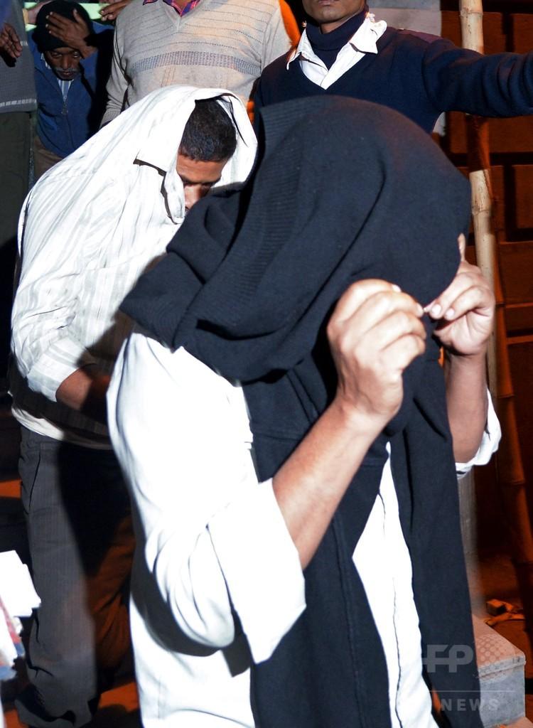 インドの邦人監禁・強姦事件、6人目の容疑者逮捕 面通し実施へ