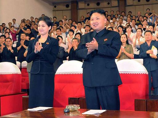 金正恩氏は既婚、北朝鮮国営テレビ