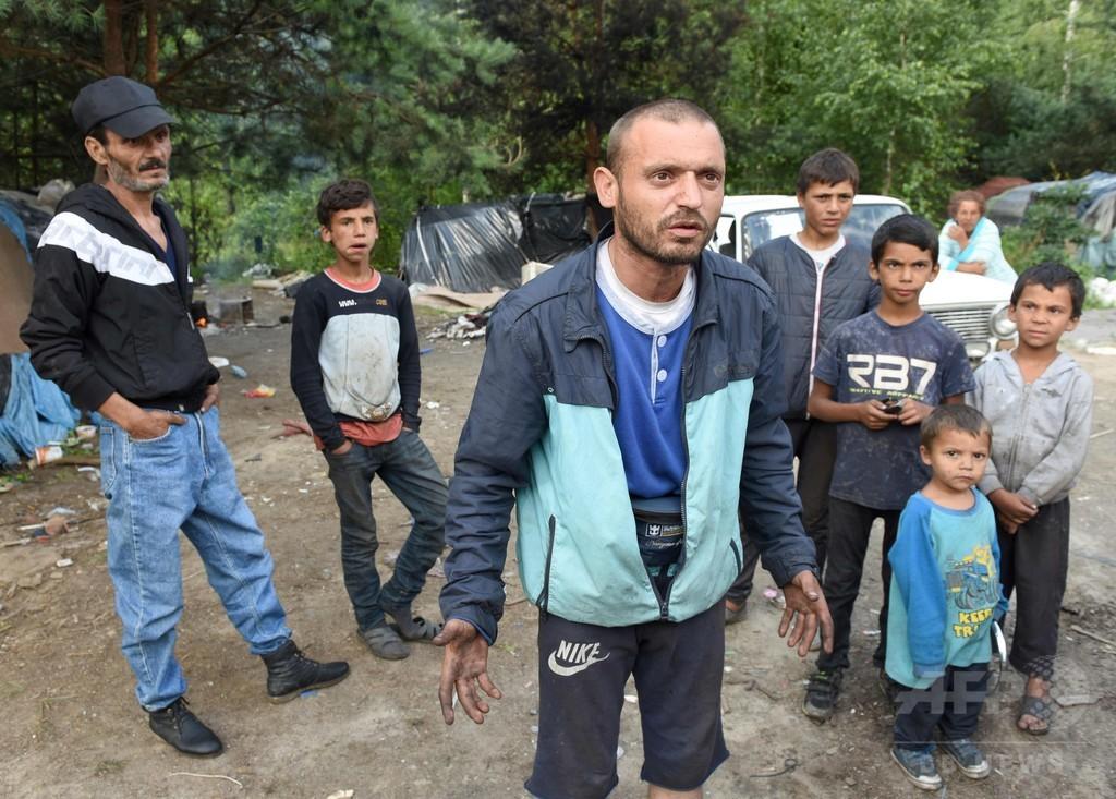 ウクライナで少数民族ロマに対する襲撃事件が多発、憎悪犯罪か