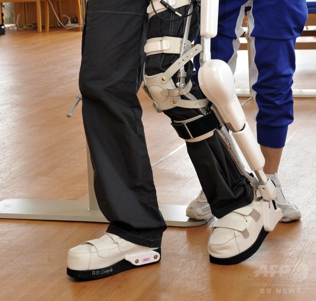 ロボット「外骨格」で高齢者の転倒を防止、研究