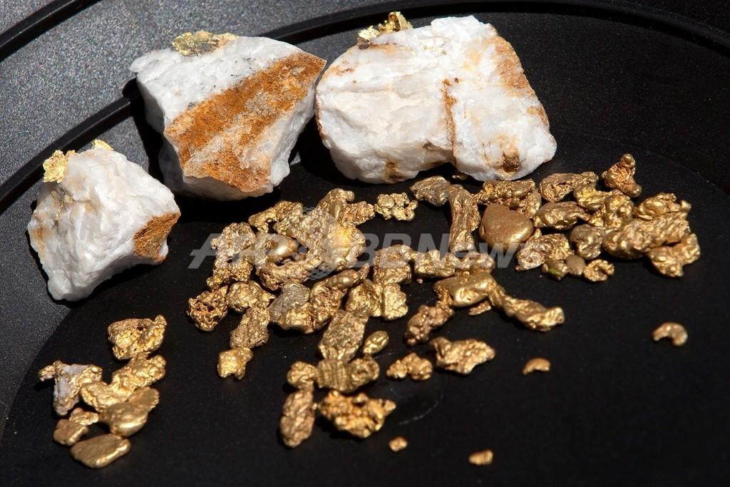 地震の揺れで「ほぼ瞬時に」金鉱脈形成?研究報告