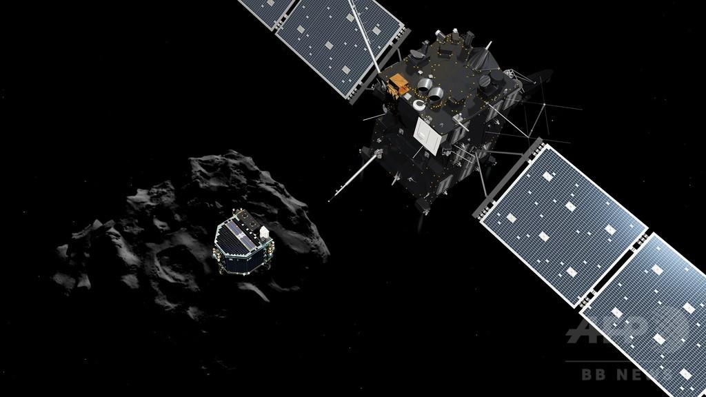 彗星探査機、制御不能の「恐怖」を経験 欧州宇宙機関