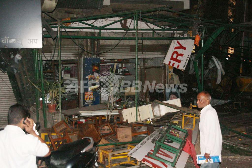 インド・プネのカフェで爆発、9人死亡