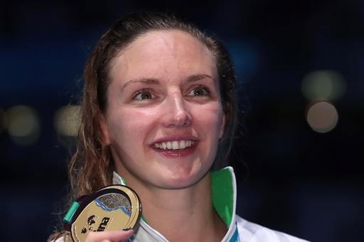 ホッスーが涙の金、英国勢男子は2種目を制覇 世界水泳