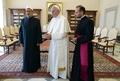 ローマ法王とイスラム教スンニ派最高権威機関の指導者、歴史的会談