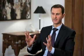 アサド大統領、対テロ戦継続とシリア全土奪還を言明 AFP独占取材
