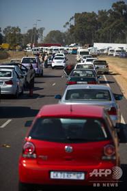 年末年始の交通事故死1600人超、南ア