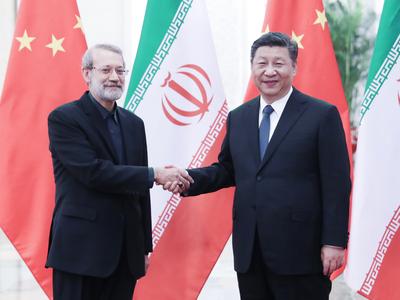 イランとのパートナーシップ発展の決意変わらず 習近平氏、ラリジャニ議長と会見